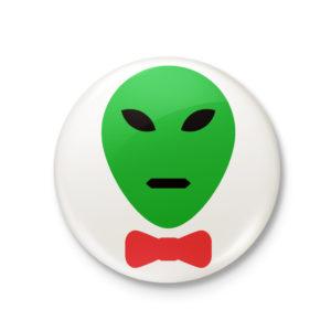 Peridot's Alien Pinback