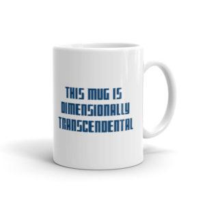 Dimensionally Transcendental Mug