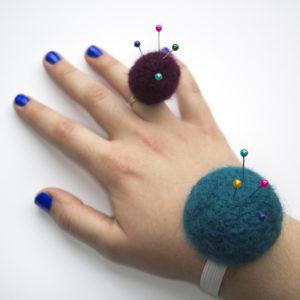 Ring or Wrist Pincushion