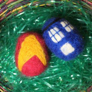 Custom Felt Easter Egg